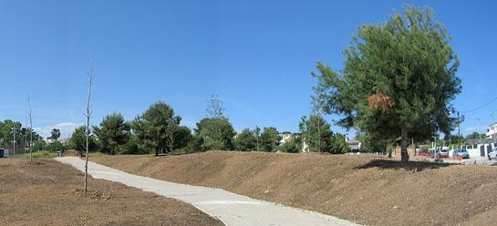 Proyecto del Parc de l'Aigua Blanca. (Cunit) Urbanismo sostenible